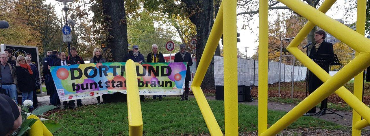 Erinnerung an die Opfer der Pogromnacht in Dorstfeld